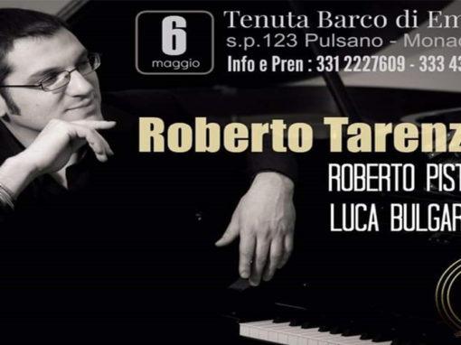 ROBERTO TARENZI trio in concert alla Locanda del Barco