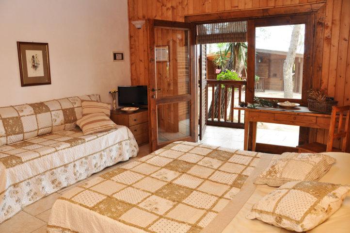 Camera da Letto - Cottage in Pineta