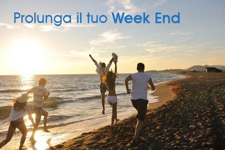 Prolunga il tuo week end al mare!
