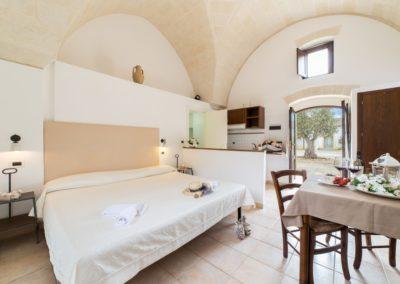 Camere in Masseria Tenuta Barco di Emèra Pulsano Puglia2
