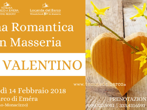 Cena Romantica in Masseria