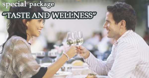"Package  ""TASTE AND WELLNESS"""