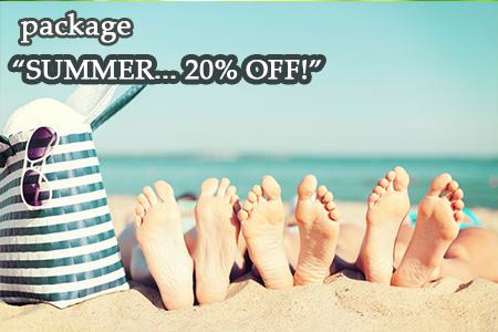 Summer… 20% off!