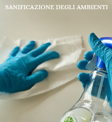 Sanificazione degli ambienti